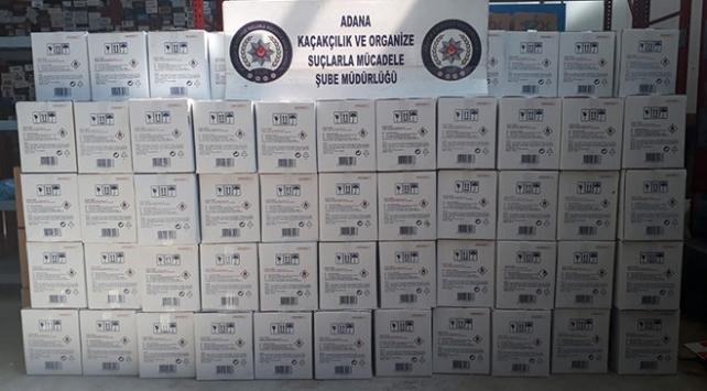Adana polisi sahte içki satışı yapanların peşinde