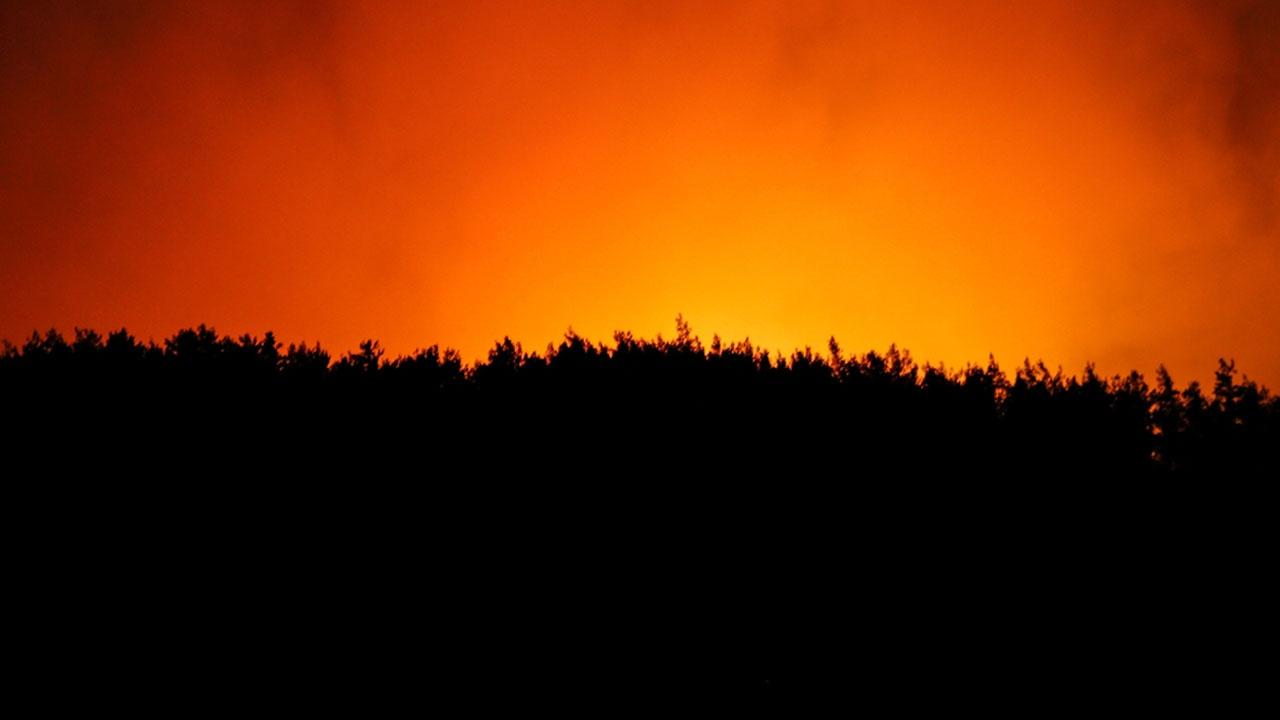 İzmirdeki yangının 3. günü