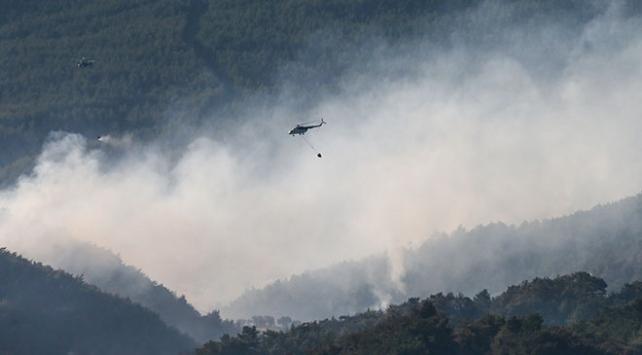 İzmirdeki yangın 3. gününde