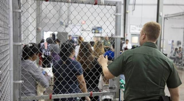 ABDde göçmen merkezlerinde tutulanlar Trump yönetimine dava açtı