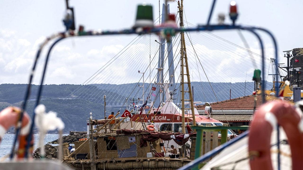 """Antik dönemin izlerini taşıyan """"Abora-IV"""" gemisi İstanbulda"""