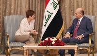 Irak Cumhurbaşkanı: AB ile askeri işbirliği geliştirilmeli