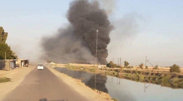Irakta Haşdi Şabi karargahına hava saldırısı