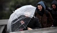 Meteorolojiden 7 kente kuvvetli sağanak uyarısı