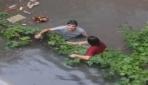 Ataşehirde su baskınında can pazarı