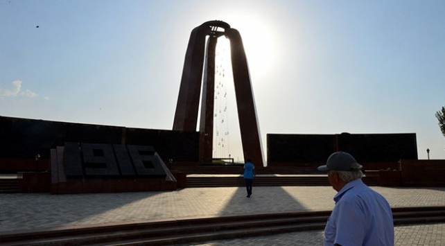 Türk dünyası Cengiz Aytmatov Anıtında buluşuyor