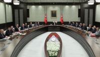 Cumhurbaşkanlığı Kabine Toplantısı bitti