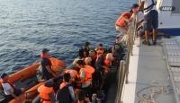 Seferihisar açıklarında 59 düzensiz göçmen yakalandı