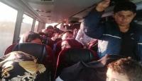 Çanakkale'de 72 düzensiz göçmen yakalandı