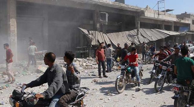 Rejim ve Rusyadan İdlibe hava saldırıları: 6 ölü
