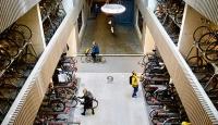 Bisikletler diyarı Hollanda'ya dünyanın en büyük bisiklet parkı
