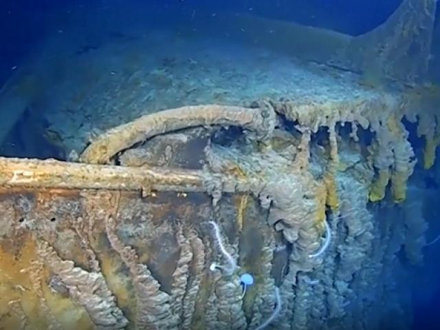 14 yılın ardından Titanic'ten ilk görüntüler