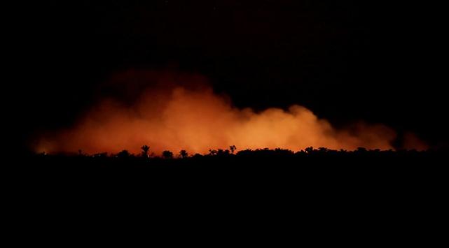 Brezilyanın Amazonlardaki yangınla mücadele için kaynağı yok