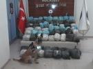 Van'da 342 kilo uyuşturucu ele geçirildi