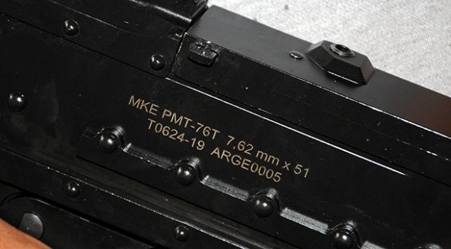 Güvenlik güçlerine yerli makineli tüfek: PMT76