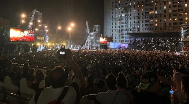 Cezayir'de konserde izdiham: 5 ölü