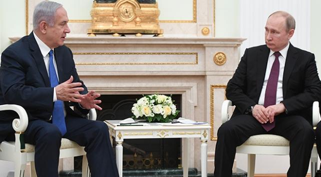 Putin ve Netanyahu Suriyede iş birliğini görüştü