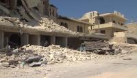 TRT Haber Esed'in bombaladığı İdlib'de