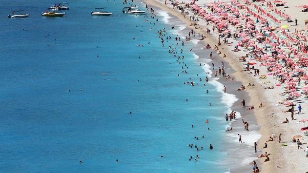 Antalya'da turist sayısı 10 milyonu geçti