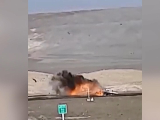 Şili'de akaryakıt tankerinin karıştığı kazada patlama: 2 ölü