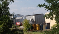 Tekirdağ'da ev ve fabrika yangını