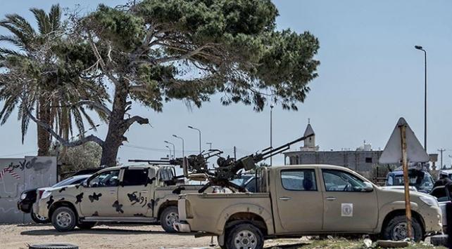 Hafter milislerinden Mitiga Havalimanına yeni saldırı