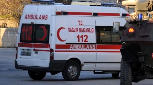Diyarbakırda zırhlı araç devrildi: 2 polis şehit, 4 polis yaralı
