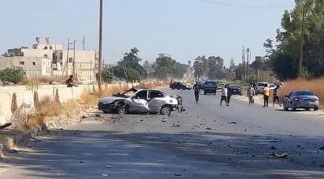 BAEye ait İHAlar Libyada sivilleri vurdu