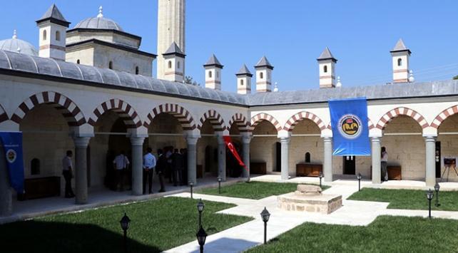 Edirne'deki Saatli Medrese'nin açılışı yapıldı