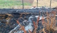 Ahırda çıkan yangında 120 küçükbaş hayvan telef oldu