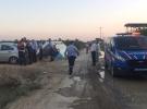 Mersin'de toplu taşıma aracı devrildi