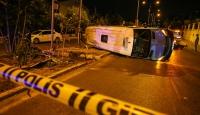 İzmir'de trafik kazası: 1 ölü, 7 yaralı