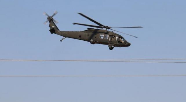 """Pentagondan """"Fıratın doğusunda ilk ortak helikopter uçuşu"""" açıklaması"""