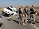 Sivas'ta otomobil devrildi: 4 yaralı
