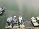 Karadenizli balıkçılar ağlarına son ilmekleri atıyor