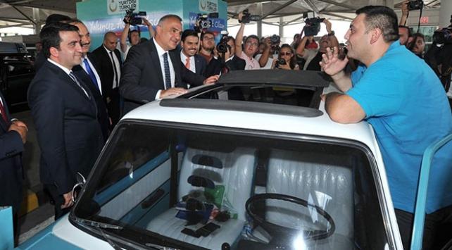 Kültür ve Turizm Bakanı Ersoy Kapıkulede gurbetçileri ziyaret etti