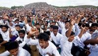 Bangladeş'teki Arakanlılardan protesto
