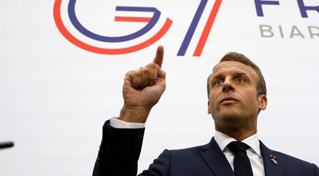 Macron: G7 ülkeleri İranın nükleer silaha sahip olmasını istemiyor