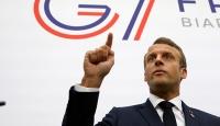Macron: G7 ülkeleri İran'ın nükleer silaha sahip olmasını istemiyor