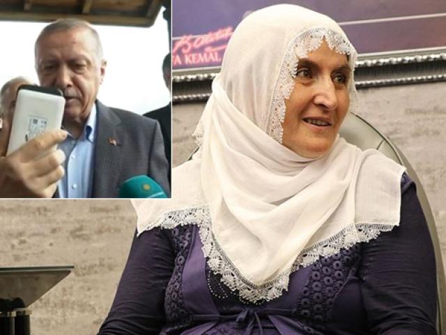 Cumhurbaşkanı Erdoğan Hacire anne ile görüştü