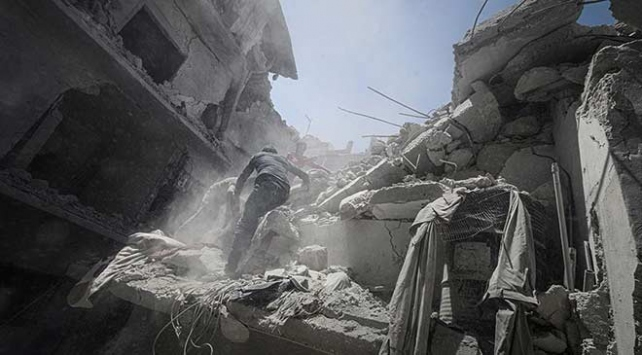 İdlibde Esed Rejimi ve Rusya saldırısı: 9 ölü