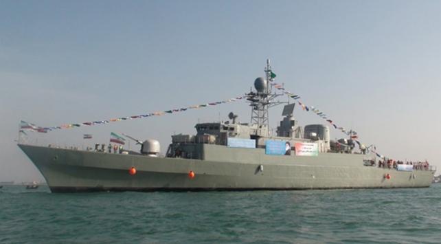 İran savaş gemileri Aden Körfezinde