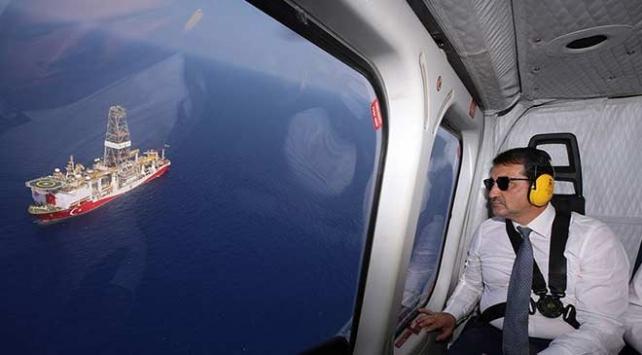 Bakan Dönmez: Doğu Akdenizdeki haklı davamızdan geri dönmeyeceğiz