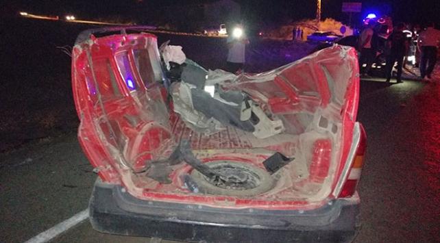 Kahramanmaraşta zincirleme kaza: 1 ölü, 5 yaralı