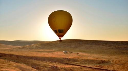 Mardin'de sıcak hava balonu uçuşları başladı