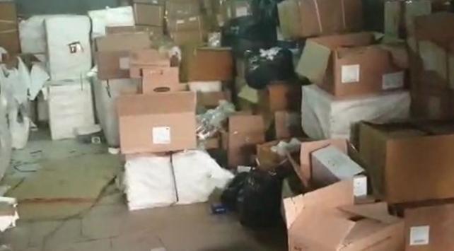 Gaziantepte 5 milyon 407 bin kaçak ilaç ele geçirildi
