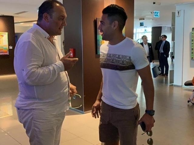 TRT Spor muhabiri Falcao ile görüştü