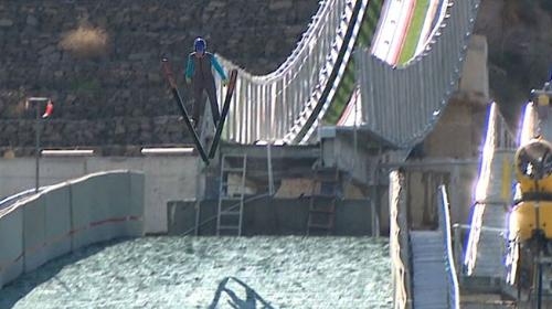 Erzurum'un yeni sembolü: Kayakla atlama kuleleri