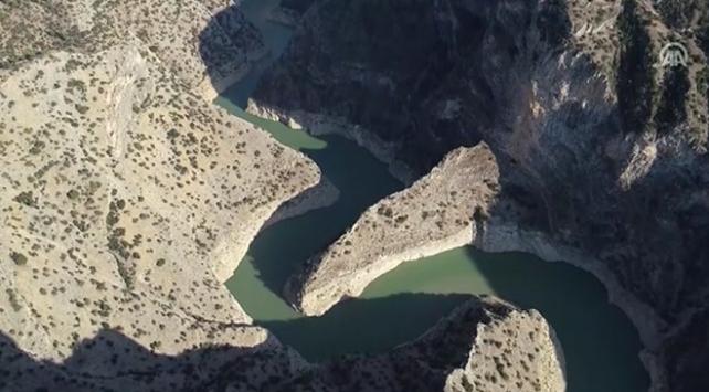İnceğiz Kanyonu ziyaretçilerine eşsiz manzara sunuyor