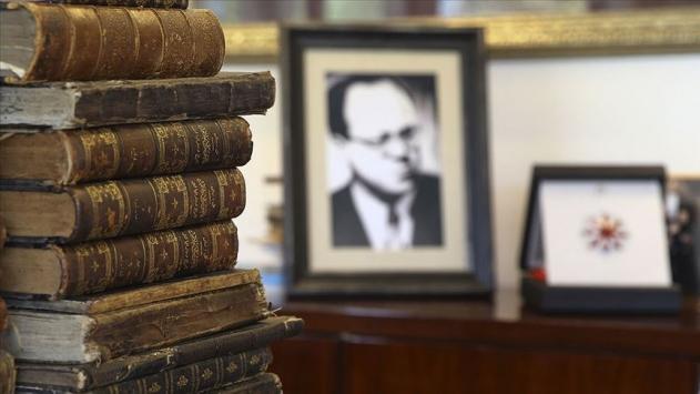 Cemil Meriçin kütüphanesindeki eserler Cumhurbaşkanlığına bağışlandı